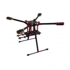 L600 600mm Folding Umbrella 3k Carbon Quadcopter Frame for Multicopter Aerial UAV FPV