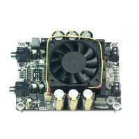 Class D T-AMP High-Power Stereo DC48V 2x500W Dual Channel HIFI Amplifier Board for Audio
