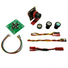 Micro HD Digital AL CCD Video Camera with OSD for 5.8G Transmitter FPV Multicopter
