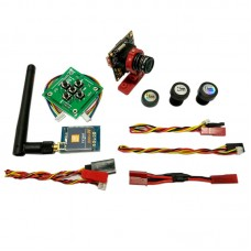 Micro HD Digital AL CCD Video Camera 40CH MINI 600mW AV Transmitter OSD Kit for FPV Multicopter