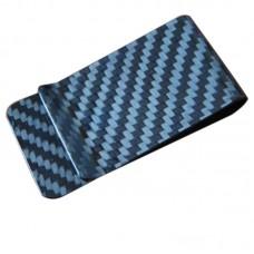 3K Carbon Fiber Money Clip Business Card Credit Card Cash Wallet Matte