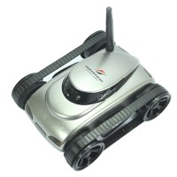 777-270 WiFi Remote Control i-spy Tank Car Toy Video with Camera APP Control by Iphone Android-Silver