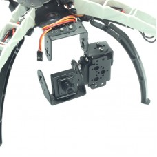 FPV Single-Axis Gimbal Camera Mount with 90 Degree Servo for Q380 Q330 F330 S500 F550 X500 Quadcopter