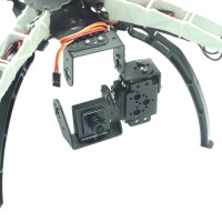 FPV Single-Axis Gimbal Camera Mount with 180 Degree Servo for Q380 Q330 F330 S500 F550 X500 Quadcopter
