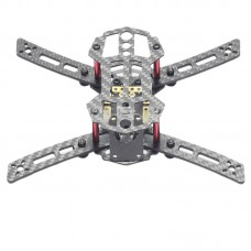 HX150 4-Aixs Carbon Fiber CF Mini Racing Quadcopter Frame with Power Distribution Board for FPV
