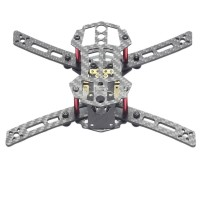 HX200 4-Aixs Carbon Fiber CF Mini Racing Quadcopter Frame with Power Distribution Board for FPV
