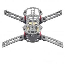 HX150 4-Aixs Glass Fiber GF Mini Racing Quadcopter Frame with Power Distribution Board for FPV