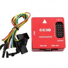 CC3D Openpilot Open Source Flight Controller CNC Metal Protective Case Processor for RC Multicopter