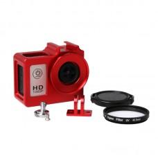 SJCAM Camera Case Frame Housing Protector Ring Cover for SJ4000 SJ6000 SJ7000 HD Sport Camera-Red