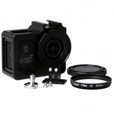 SJCAM Camera Case Frame Housing Protector Ring Cover for SJ4000 SJ6000 SJ7000 HD Sport Camera-Black