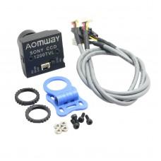AOMWAY 1200TVL 960P HD Mini Camera 2.8mm Lens for Sony CCD FPV