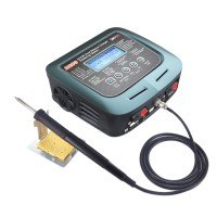 SkyRC D200 AC DC Dual Balance Charger Discharger with Soldering Iron for RC Models