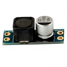 LC Power Filter 2A 16V Onboard Switch Input Reverse Polarity Protection for FPV Video