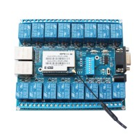 HLK-SW16 16CH Wifi Relay Module for Wifi Module P2P Mobile Phone Control Switch