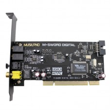 MUSILAND Multimedia M-SWORD Dual Channel Digital ASIO WDM PCI Audio Sound Card