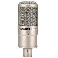 Takstar PC-K200 Condenser Microphone Speaker with Metal Construction for Network Karaoke Computer Recording