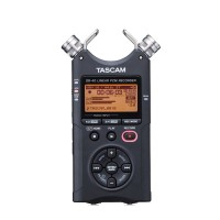 Original Tascam DR-40 Handheld Digital Voice Recorder Professional Recording Pen Kit