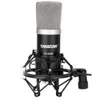 Takstar PC-K500 Recording Studio Microphone Speaker Condenser for Computer Network Karaoke Recording