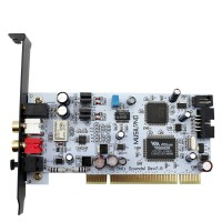 Musiland Moil PCI HIFI Sound Card 24bit/192Khz ASIO Dual Channel with Fiber Output for PC Computers