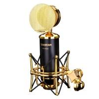PCK820 Professional Recording Microphone Capacitance Speaker Kit for Karaoke Broadcast Music