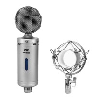 ISK BM-5000 Professional Condenser Microphone for Computer Recording Studio Performance Mic Shock Mount