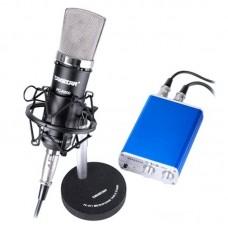 Takstar Pc-k600 Condenser Microphone Speaker Unit for Computer Karaoke Recording Music Karaoke