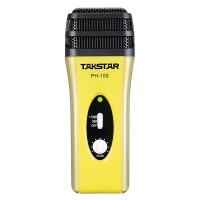 Takstar PH-100 Mobile Phone Karaoke Microphone IOS Android Systems Mobile Device Condenser Mic-Yellow