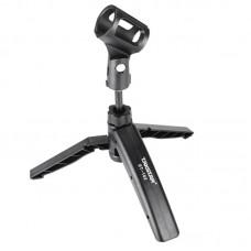 Takstar st-102 Transmittances Microphone Desktop Mount Folding Tripod Lift Holder Mic Stand