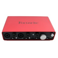 Focusrite Scarlett 2i4 USB Audio Interface Guitar Recording Sound Card Audio Player 2-in 4-out for Music DJ