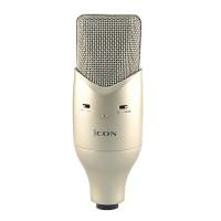 ICON M2 Large Diaphragm Studio Condenser Microphone Professional Recording Mic for Network Karaoke