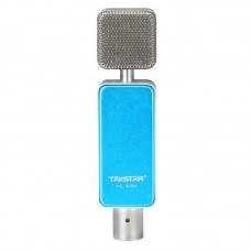 Takstar PC-K700 Professional Condenser Microphone with Superior Sound for Network Karaoke Recording-Blue