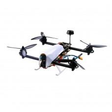 HMF SL300 Mini Quadcopter Frame Kit Vector Racing FPV Quadcopter Variable Thrust Vector Motor with Housing Case