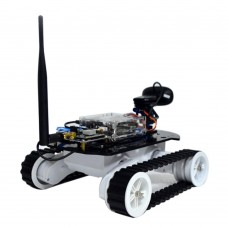 WIFI Smart Car Remote Control Robot Kit with Servo Gimbal  for Arduino HD Video Android Monitoring