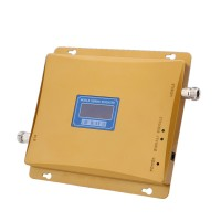 LCD Display GSM980 900MHz 65dBi Mobile Phone Signal Amplifier Booster Repeater 2000 Square Meter Amp