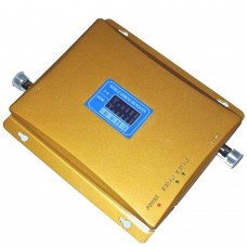 LCD Display GSM980 W-CDMA 65dBi Mobile Phone Signal Amplifier Booster Repeater 2000 Square Meter Amp