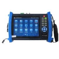 IPC-8600 7inch Touch Screen IP Camera Tester Analog CCTV Camera Monitor PoE HDMI