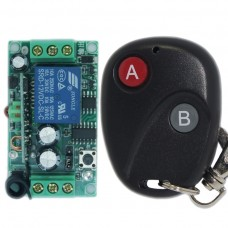 DC12V 2CH RF Wireless Intelligent Remote Control Switch 315MHZ Transmitter Receiver