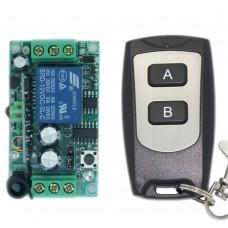 DC12V 1 CH 1CH RF Wireless Remote Control Switch System Mini Receiver Board 315MHZ Transmitter Receiver