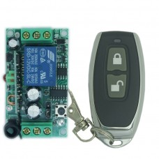 DC12V 1CH 315MHZ Wireless Intelligent Remote Control Switch Transmitter Receiver for Lights Enteance Guard