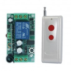 DC12V 1CH 315MHZ Wireless Intelligent Remote Control Switch Transmitter Receiver for DIY