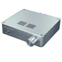 TDA7498E Class D 2x160W 2CH Digital HiFi Amplifier High-Power Stereo Audio Amp w/ Power Supply-Silver
