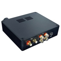 TDA7498E Class D 2x160W 2-Channel Digital HiFi Amplifier High-Power Stereo Audio Amp w/ Power Supply -Black