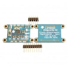 LSM9DS0 IMU 9DOF Sensors High-Precision Integrated 9-Axis Altitude Sensor Module SPI I2C for Arduino DIY