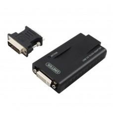 UNITEK Y-3801 USB 3.0 Interface to DVI VGA Adapter Convertor 1080P HD for Mac Linux Computer