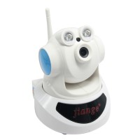 P2P HD WIFI Network Camera Wireless PTZ Security 2-Way Audio Monitoring Survelliance IP Cam