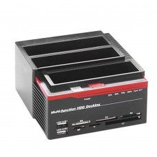 Multi-function HDD USB 2.0 to SATA Docking Station for 2.5inch 3.5inch SAT IDEA HDD Hard Drive Docking Station