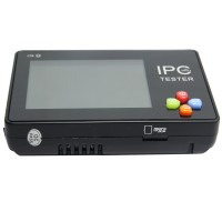 PC-1600 Portable Wrist 3.5inch Touch LCD Screen IP Analog Network Camera Tester PTZ Control Monitor
