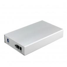 Upgraded AC100-240V USB3.0 Mobile Hard Disk HD Box 3.5inch Seriel Port SATA Enclosure for 4TB