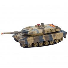 516 War Tank RC Charging Tank Automatic Rotating Remote Control Toy for Kids