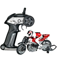 HQ527 Mini 2.4Ghz Moto Off Road High Speed Racing Motorcycle Remote Control RC Motor Bike for Kids